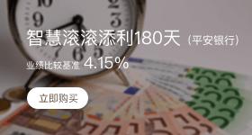理財下拉-智慧滾滾添利180天(平安銀行)