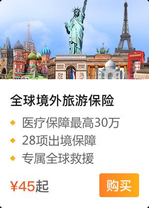 全球旅游险(境外)